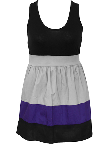 Cotton Trendy Adorable Stripe Dress $38
