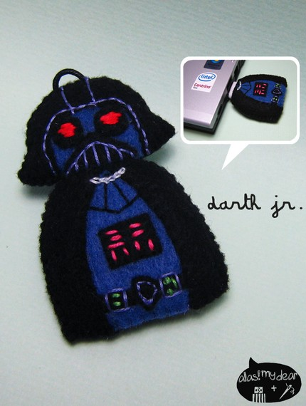 darth vader jr. (2GB usb flash drive)