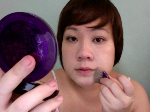 Step 5 - URBAN DECAY Surreal Skin Cream to Powder Foundation (Illusion)