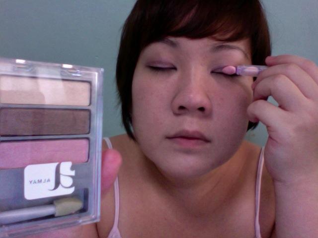 Step 6 - ALMAY Intense i-Color (Apply PINK on eyelids)