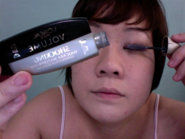 Step 11 - L'OREAL Volume Shocking Waterproof Mascara