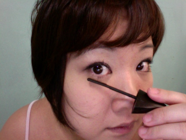 Don't forget to do your lower lashes!