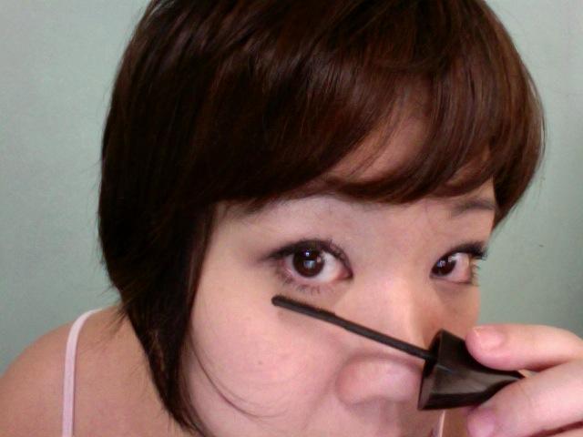 Tah dah! Lower lashes done!