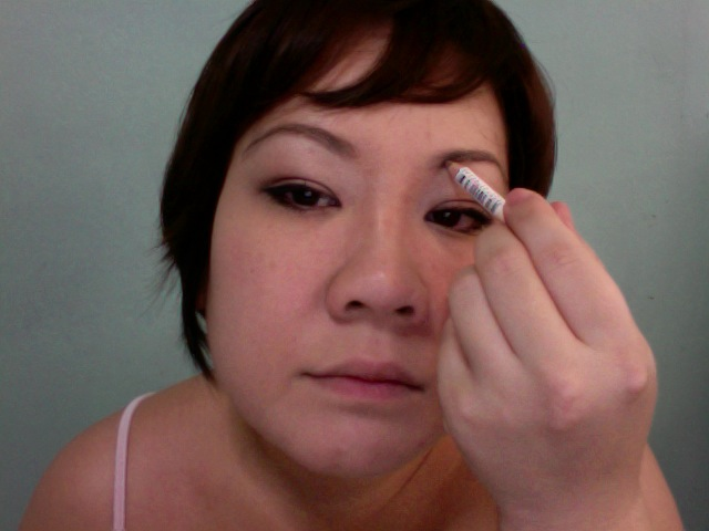 Step 12 - COULEUR INC Eyebrow Pencil (Light Brown 02)