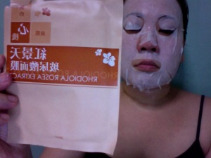 Rhodiola Rosea Extract Pre-soaked Mask
