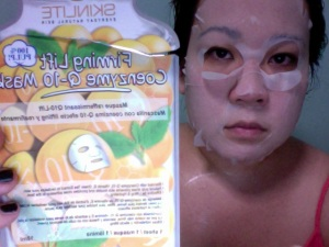 Skinlite Firming Lift Coenzyme Q-10 Mask (Pre-moistened)