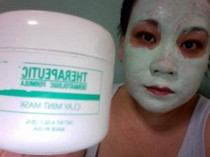 Therapeutic Dermatologic Formula Clay Mint Mask