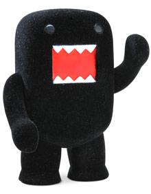 4inch Fuzzy Ninja Black Domokun