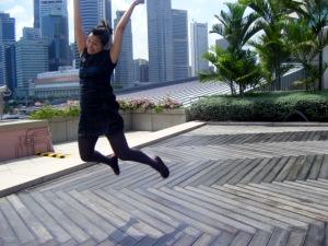 Jumping bean Luanne!