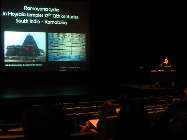 Dr Rachel Loizeau at the AF Theatre