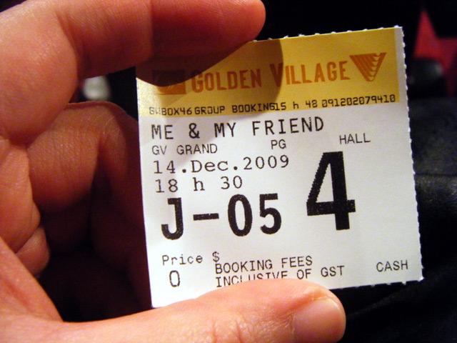 Zero-value ticket stub to a pretty rich experience