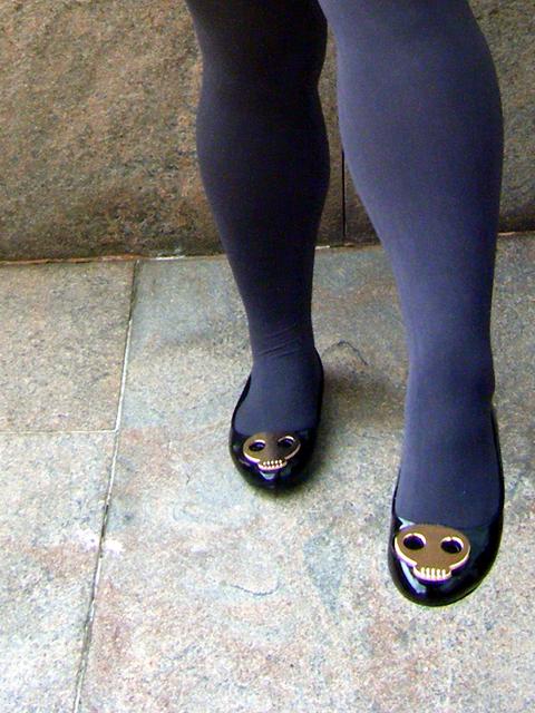 Skull Head Shoes from Junmin!