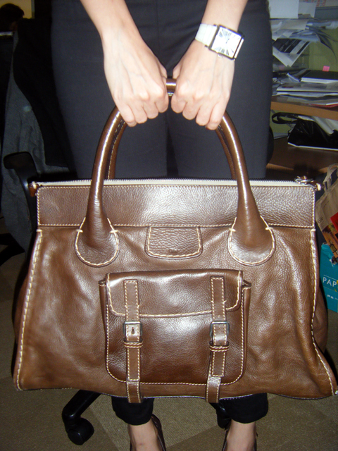 Lishan's Bag is Chocolate Chic