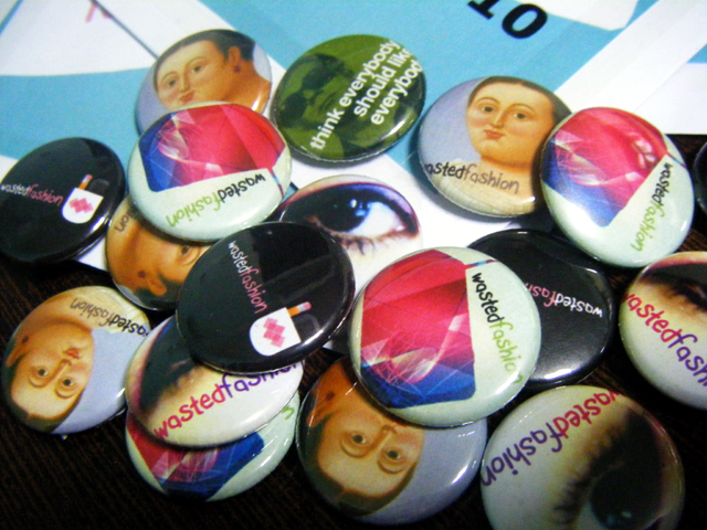 Limited Edition WastedFashion buttons