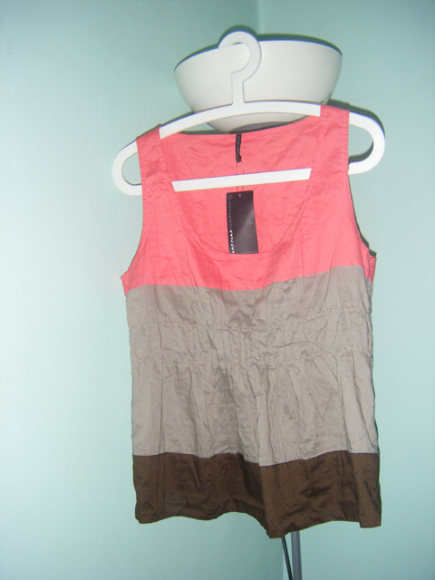 Neopolitan-coloured top from Naf Naf
