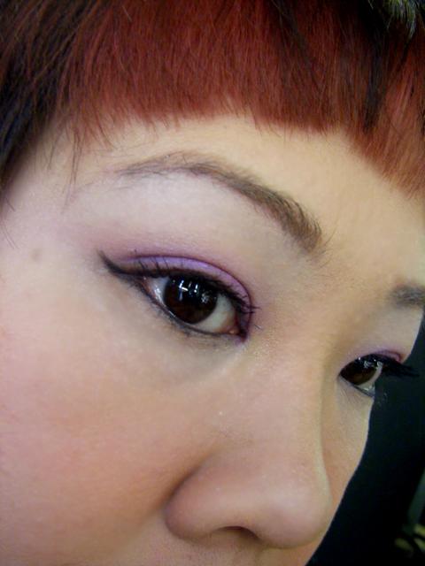 Purple eyeshadow from MAC - Stars 'N' Rockets