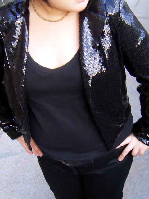 Close-up on the fabulous jacket