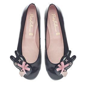 Rosario - Patent Leather with Teddy Bear