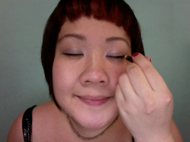 Step15 - Elizabeth Arden black eyeliner pencil