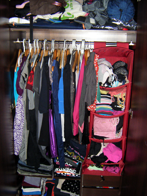 State of my Wardrobe - March 2010
