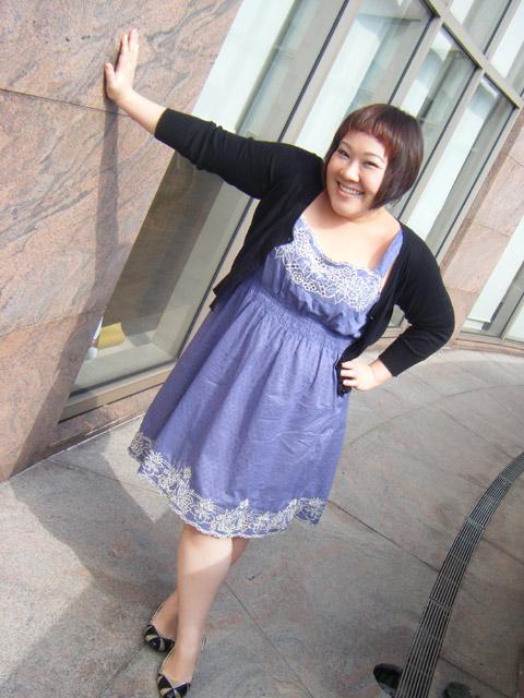 "My new ""Date"" dress"