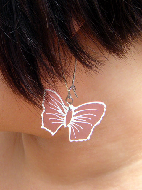 Butterfly earrings!