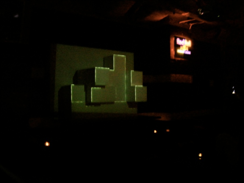 Saturday - Projection mapping at SYNDICATE, yo