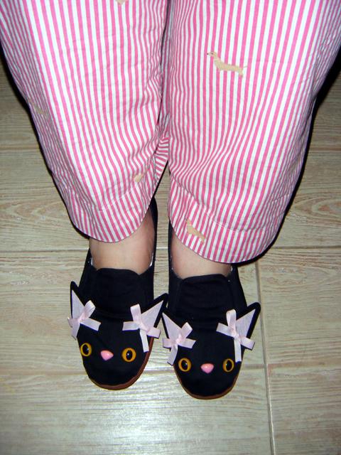 Do you like my candy-stripe PJs?