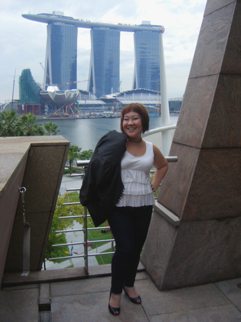 Marina Bay Sands... oh how you grow before our eyes