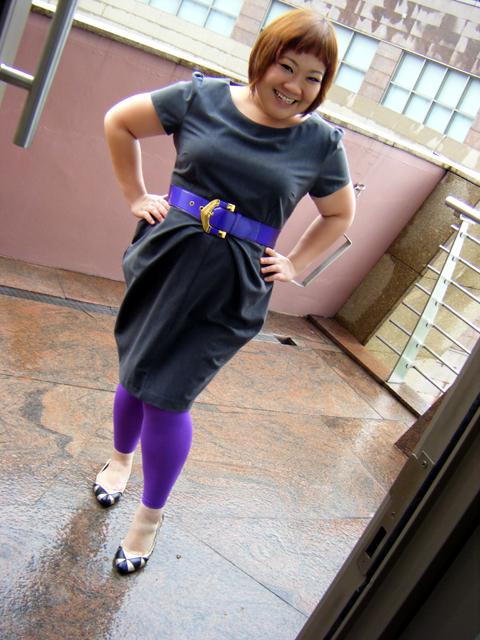 Purple & Grey today
