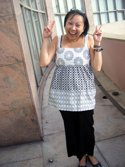 And this is Michelle Yeo