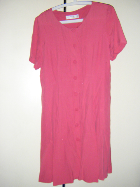 Vintage M&S St. Michael button-down dress