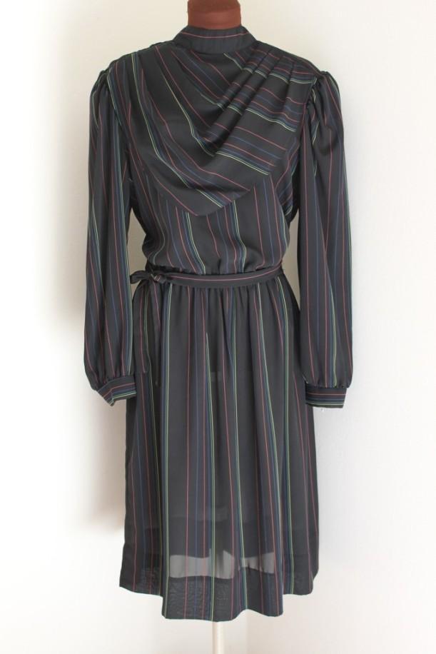 Kerchief Neckline Secretary Dress