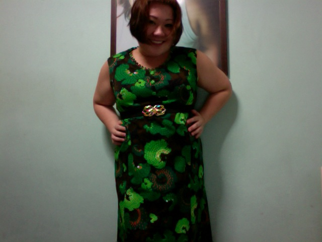Long Green Monster Dress