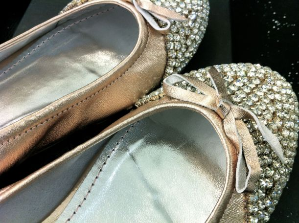 Can't believe I own diamante shoes