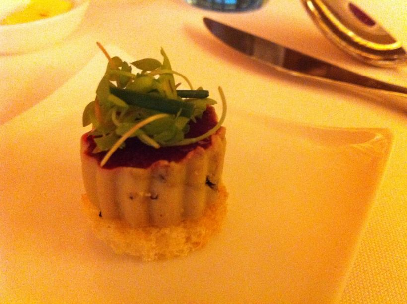 Foie Gras (even though it's against my principles to eat it... it's cute)