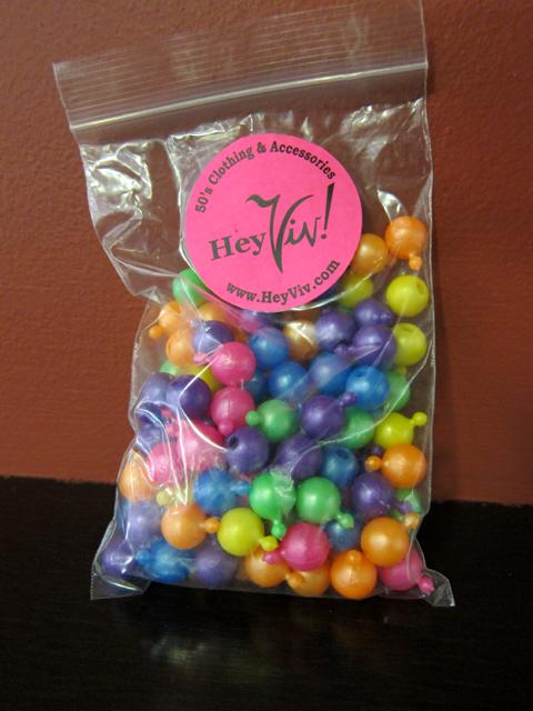 HEY VIV! Pop Beads (see www.heyviv.com)