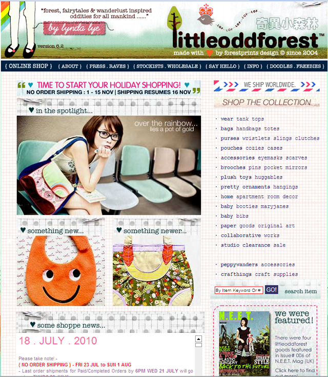 LittleOddForest - Singapore designer, yo!