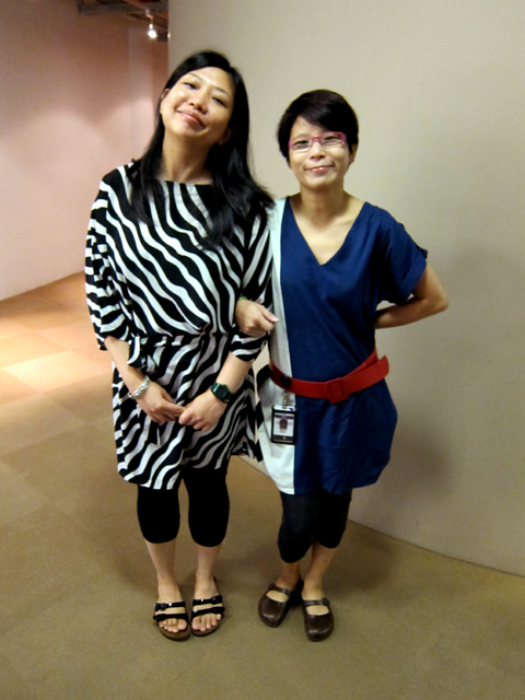 Tamares Goh & Amy Ho, rockin' the Birkies
