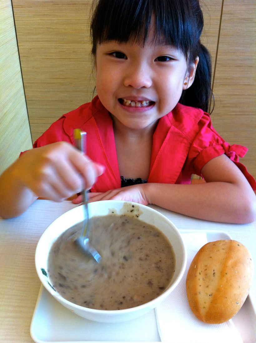 The Soup Spoon. Try the mushroom. Chockful of goodness! YUMZ