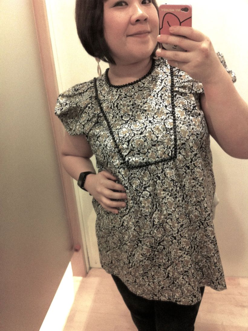 Comfortable and flattering. 50% discount. BOUGHT!