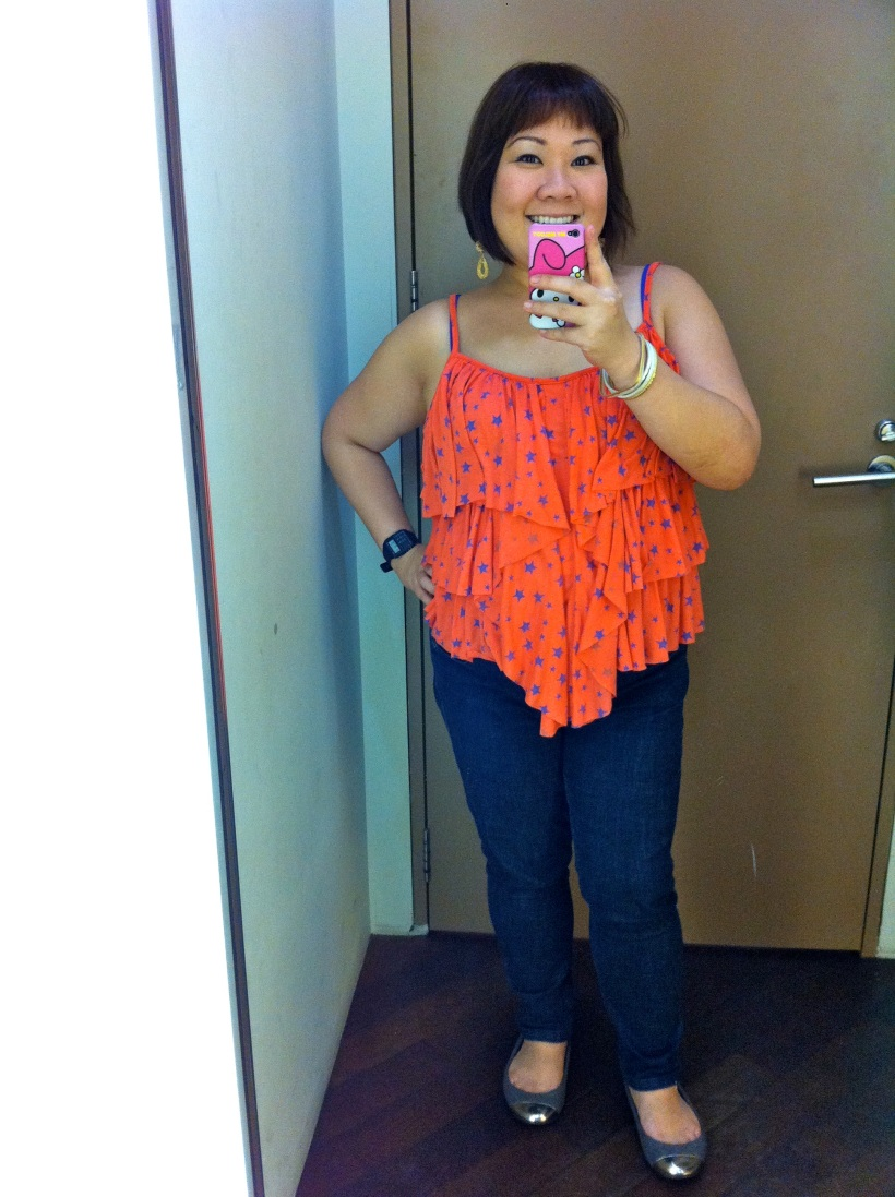 Dressing room photo taken at ISLAND SHOP in Raffles City