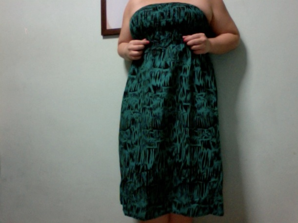This green 2 in 1 dress-skirt is possibly my best purchase