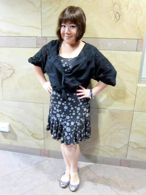 My lovely broderie anglaise cropped top/bolero from FCUK