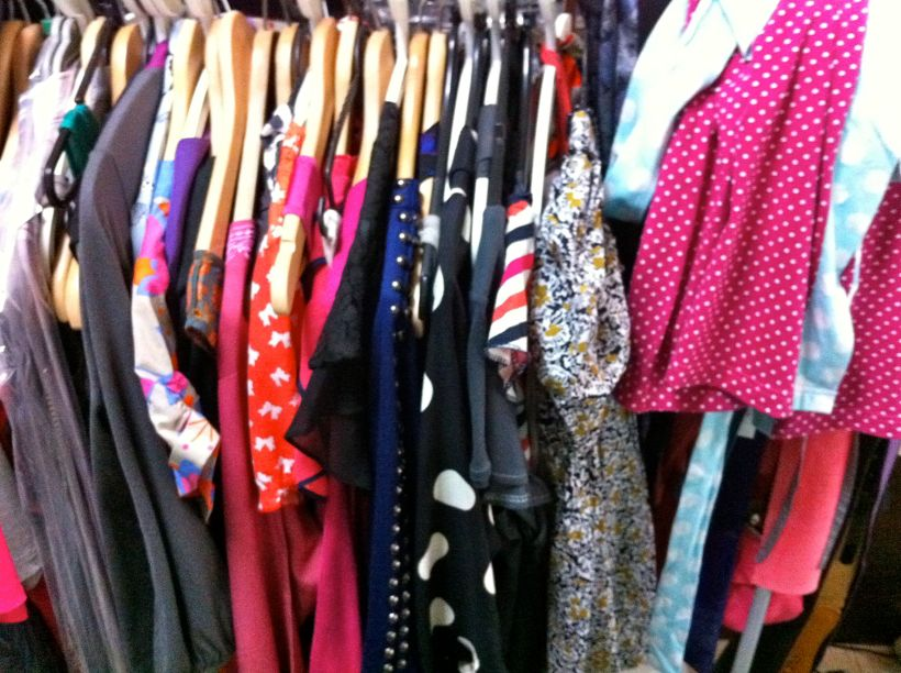 "My ""eBay"" rack has now been invaded by my own everyday clothes"