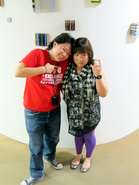 Christie Chua and I