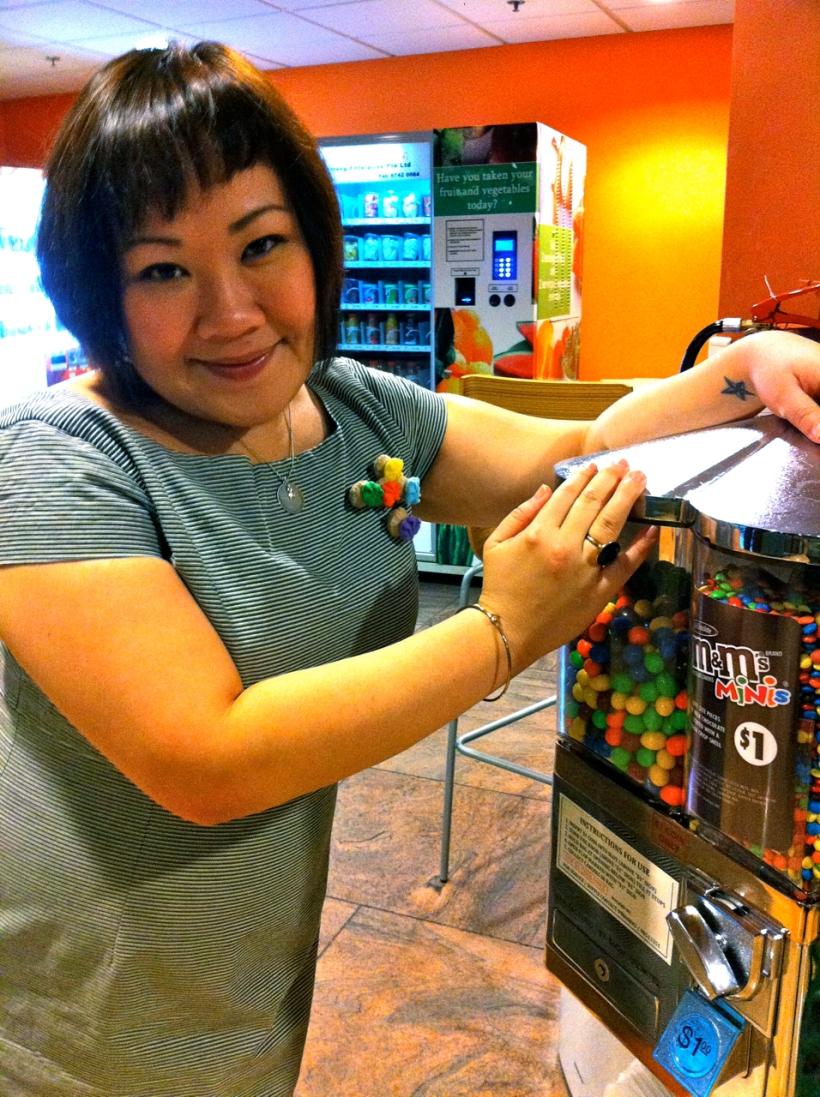 Endorsing candy...