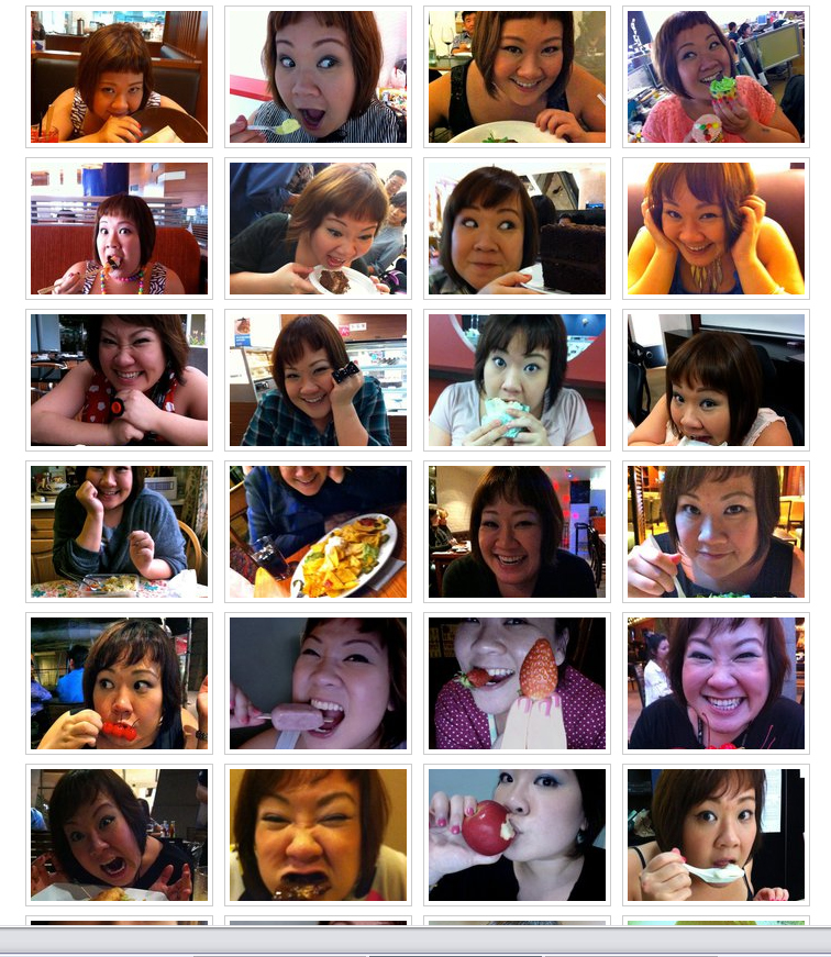 Food Face compilation