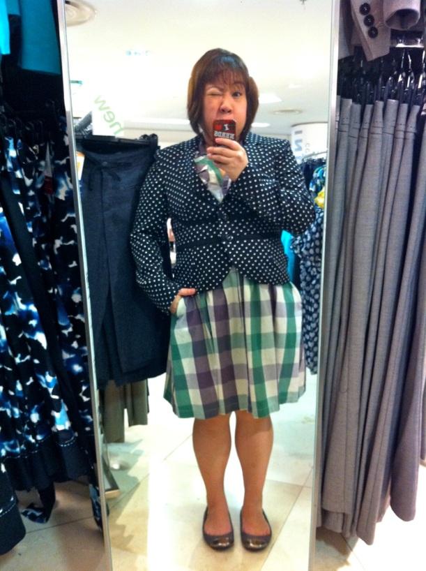 Marks & Spencer's Polka Dotted Blazer S$180