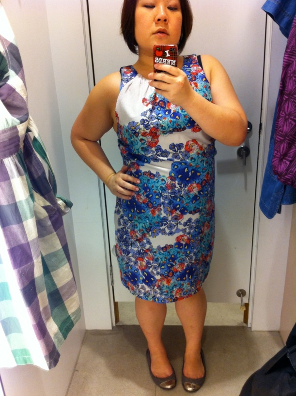 WAREHOUSE floral sleeveless dress S$99 LOVE!!!
